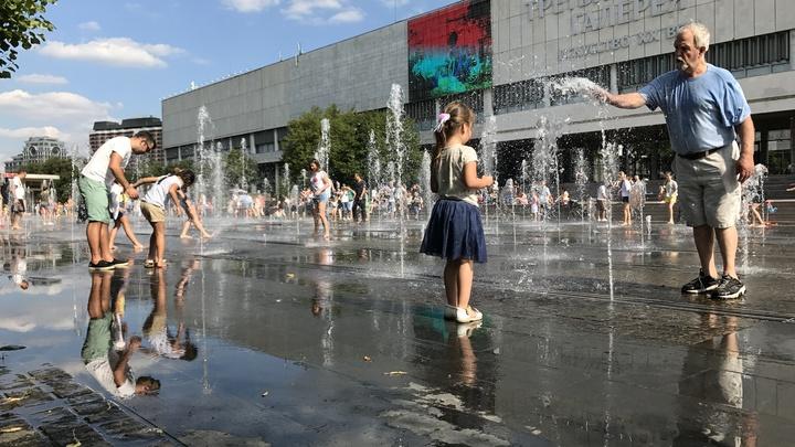 Синоптики пообещали в Москве с пятницы по понедельник жару +30