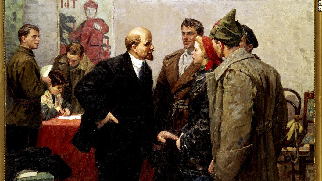 На Украине снесли все известные памятники Ленину