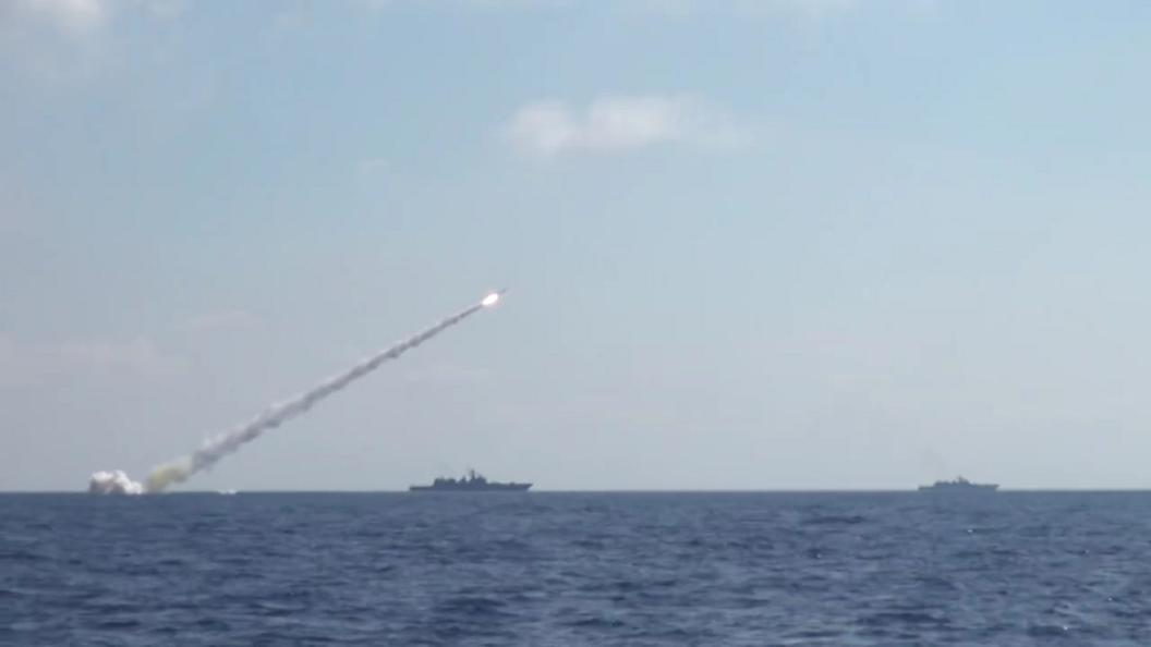 Подлодка точно поразила цель Калибром на расстоянии 600 км