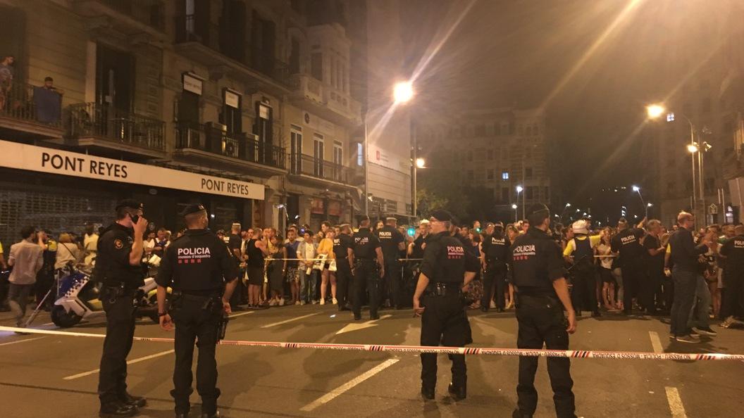Испанская милиция  задержала еще одного подозреваемого всвязи стерактом вБарселоне