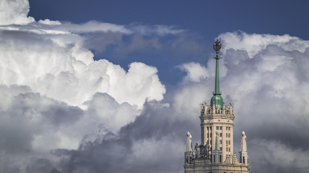 В Москве предупредили об опасных погодных явлениях
