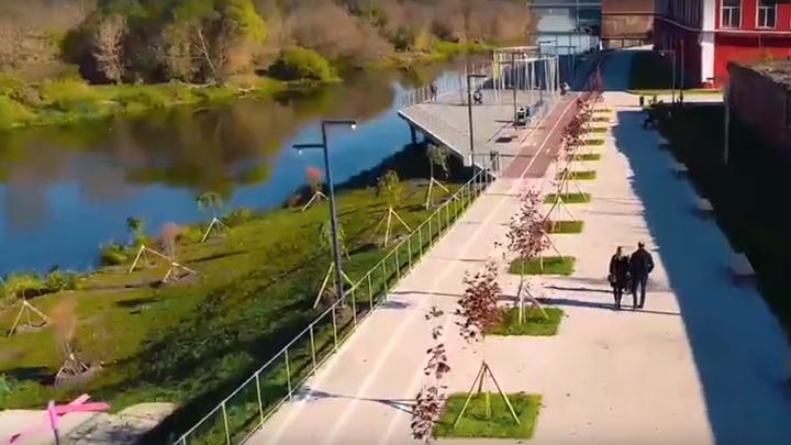 В Орехове-Зуеве заканчивается ремонт набережной Клязьмы