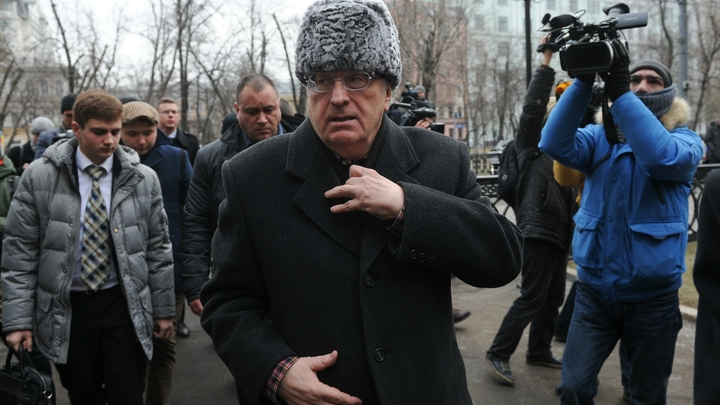На Украине Жириновского попытаются привлечь за терроризм