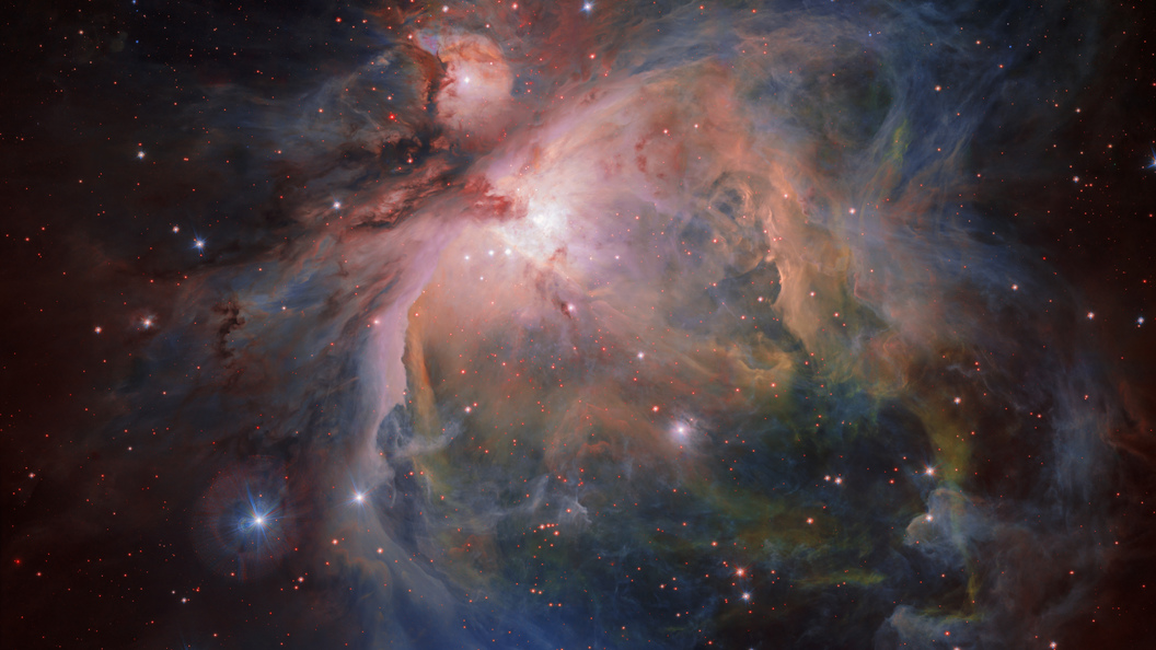 Астрономы впервые вплотную рассмотрели поверхность звезды-сверхгиганта Антарес