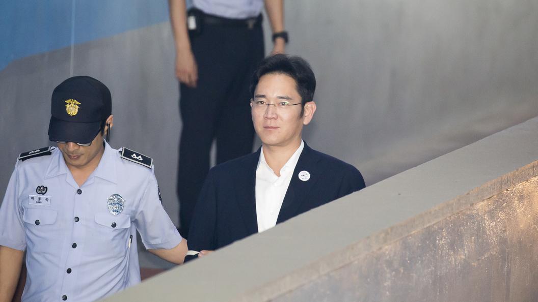 Осужденный на пять лет за коррупцию замглавы Samsung настаивает на своей невиновности