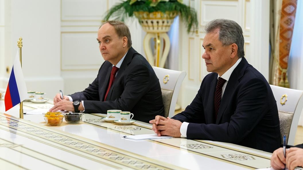 В Москве прошла первая встреча нового российского посла в США Антонова и Теффта