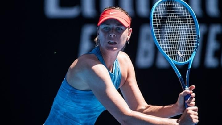 Американская теннисистка призналась, что Шарапова - ее кумир с детства
