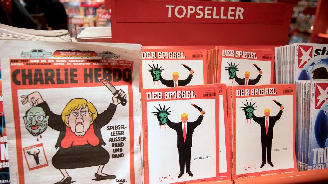 Charlie Hebdo поглумился над неонацистами и потопом в Техасе