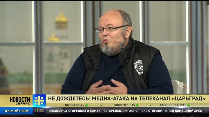 Кормухин: Царьград помешал служителям золотого тельца развалить Россию
