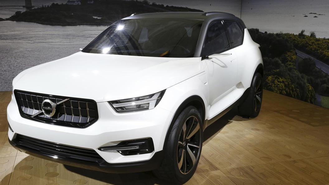 Volvo представила передовые системы безопасности кроссовера XC40