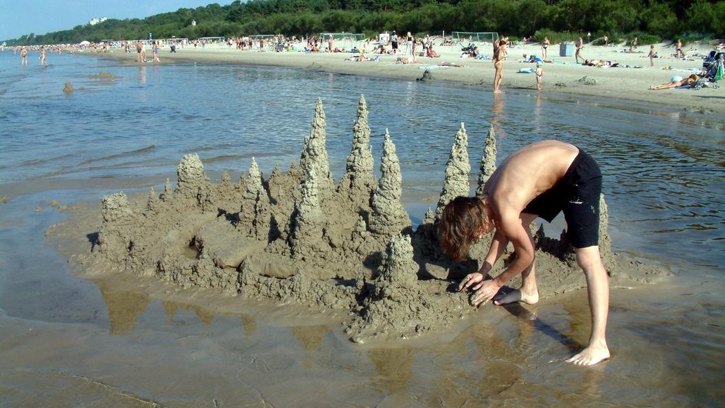 Замок из песка с пятиэтажный дом попал в Книгу рекордов Гиннеса