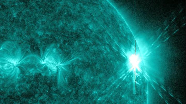 Солнцетрясение продолжается: На Солнце произошла четвертая мощная вспышка