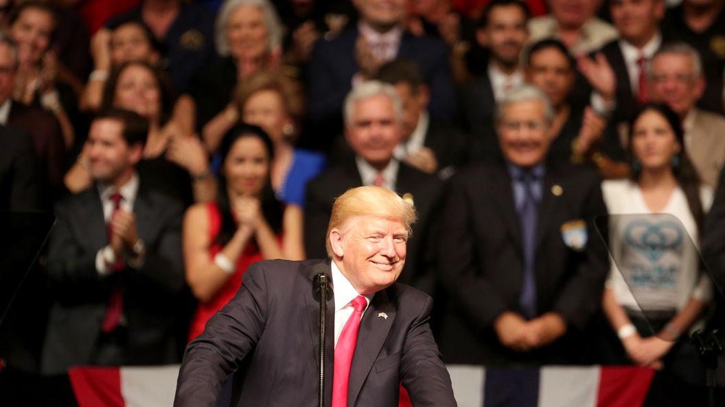 Трамп прервал беседу спремьером Ирландии исдела комплимент журналистке