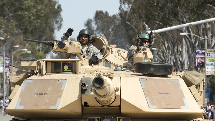США пообещали напугать Россию и Китай... танком