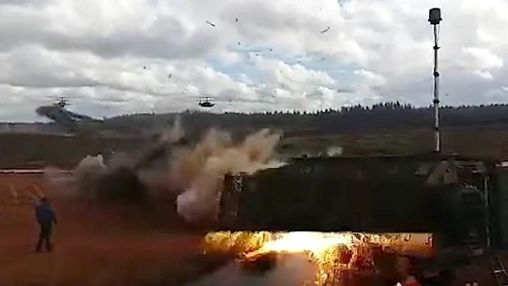 Сообщения СМИ об ударе вертолета на учениях Запад-2017 оказались намеренной провокацией