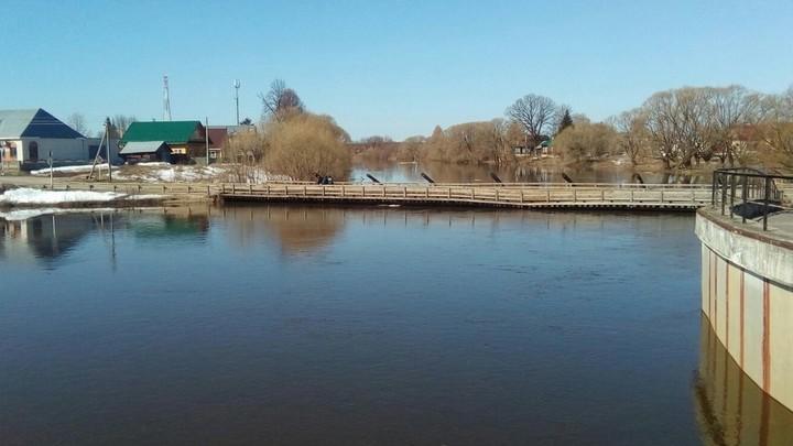 Мост через Тезу в Холуе из-за паводка будет перекрыт