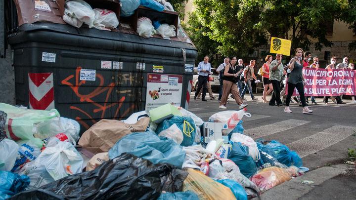 Реки мусора, кабаны и волки на помойках: Мусорный коллапс в Риме угрожает эпидемией - главврач города