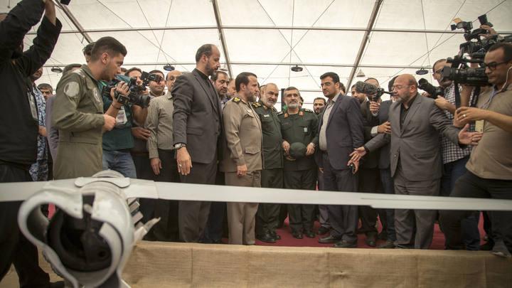 Охота на стервятников: На выставке в Тегеране показали трофейные американские БПЛА