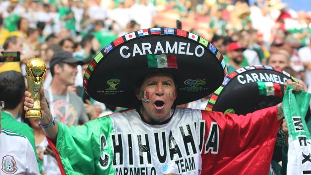 Вот как надо праздновать: Мексиканцы вызвали землетрясение, прыгая после гола на ЧМ-2018