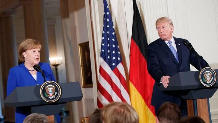 Трампу так и не удалось очаровать Меркель - NYT