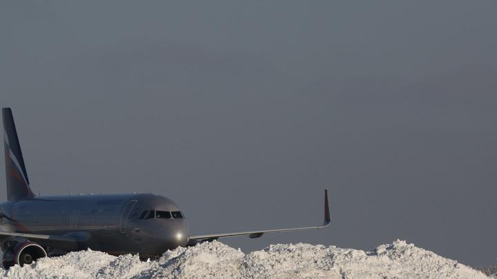 Шереметьево предупреждает о новых задержках рейсов из-за снегопада