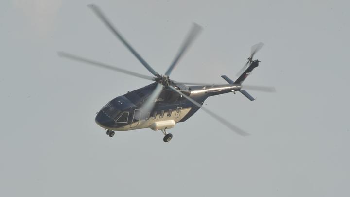 Сломанные лопасти, машина на крыше: Спасатели назвали причину падения вертолёта на Ямале