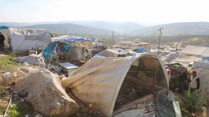 Пальцем в небо: В Минобороны ткнули NYT в изъян статьи об авиаударе по сирийскому лагерю