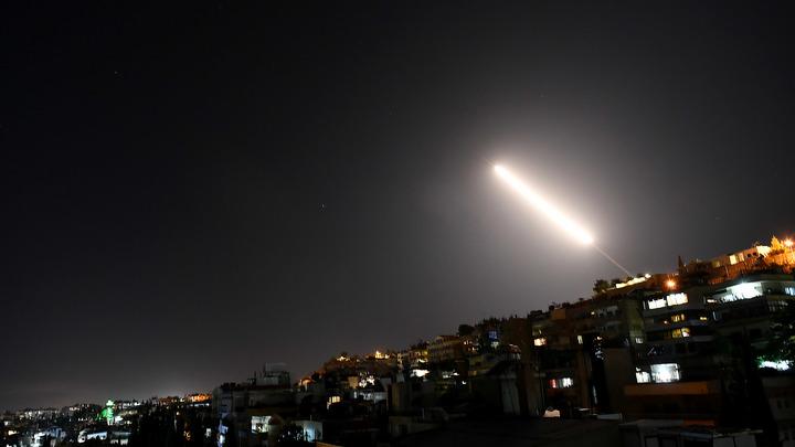 Ночную провокацию Израиля смазали средства ПВО Сирии