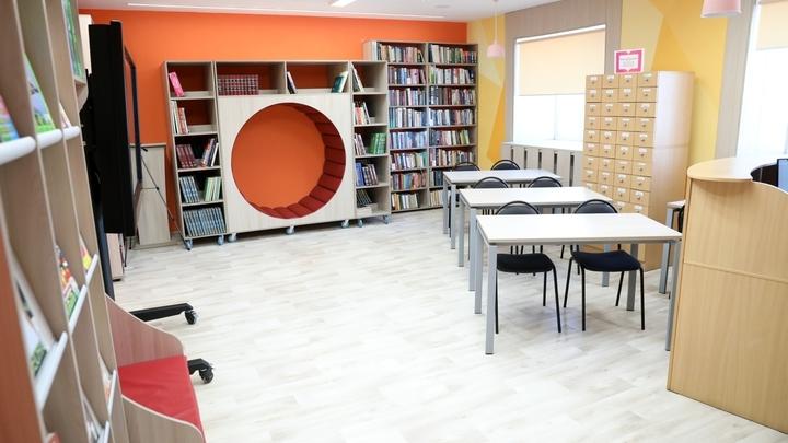В Курганской области полпред Якушев оценил библиотеку в селе Белозерское