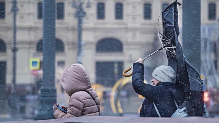 Погода на Кубани на 17-19 ноября: В регионе прогнозируют налипание мокрого снега и сильный ветер