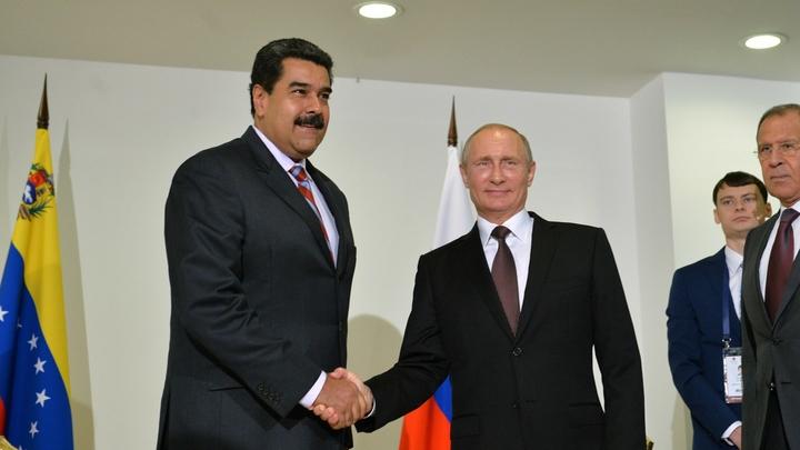Русские специалисты несут постоянное дежурство в Венесуэле, приехал новый отряд - Мадуро