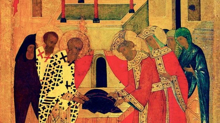Чудотворная святыня. Положение пояса Пресвятой Богородицы. Церковный календарь на 13 сентября