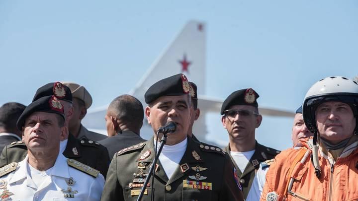 Министр обороны Венесуэлы: В стране происходит государственный переворот
