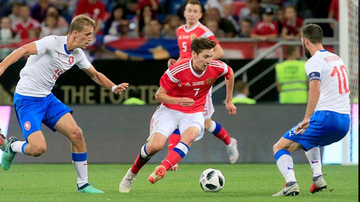 Победа сборной России: Уверенно, ярко, крупно