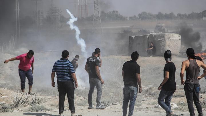 Ракета, выпущенная с территории сектора Газа, взорвалась в воздухе