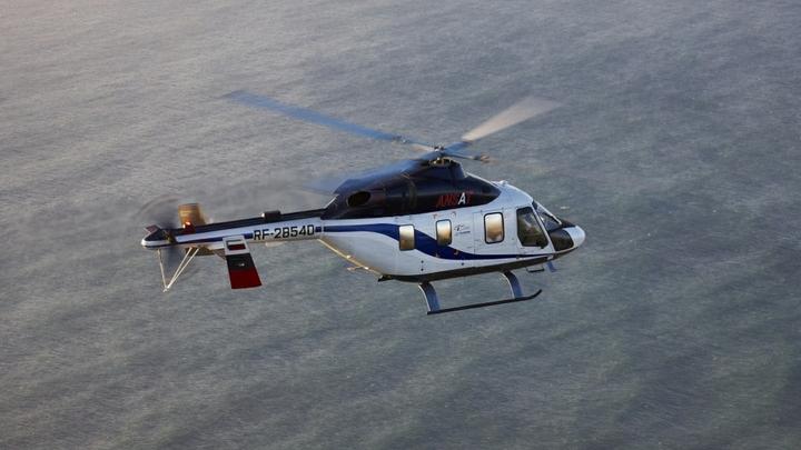 В России испытали «непотопляемый» вертолет «Ансат»