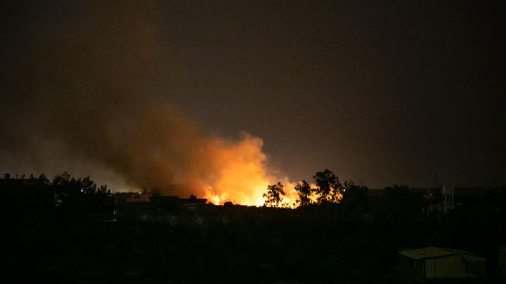 Машина повреждена: Правительство Ливии захватило базу Хафтара и ЗРК Панцирь