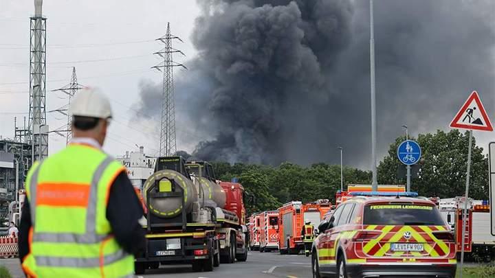 Количество пострадавших от взрыва на химзаводе в Германии за день выросло вдвое