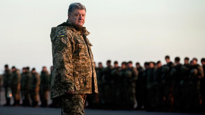 Порошенко цинично поблагодарил Донбасс за стойкость