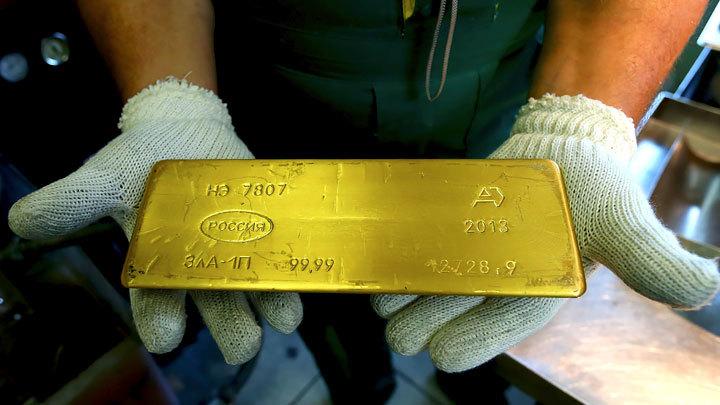 Золотая лихорадка Силуанова: Слитки для Минфина
