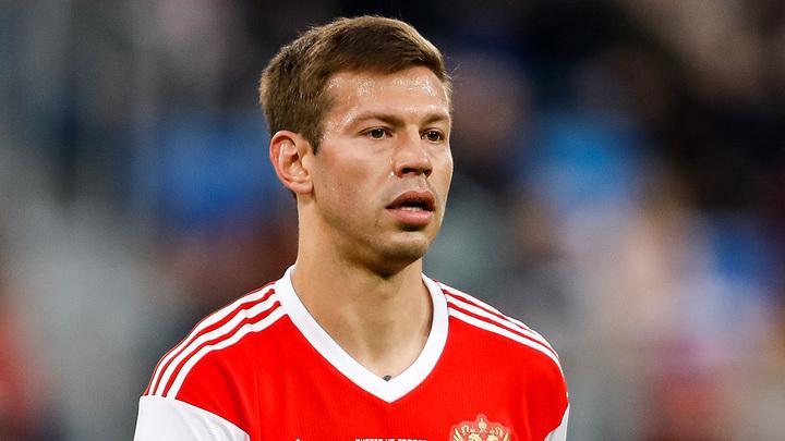 Смолов - лучший футболист года по версии игроков