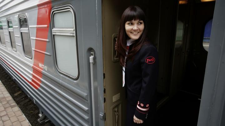 Черная зависть: На Украине придумывают проблемы российской железной дороги в обход Украины