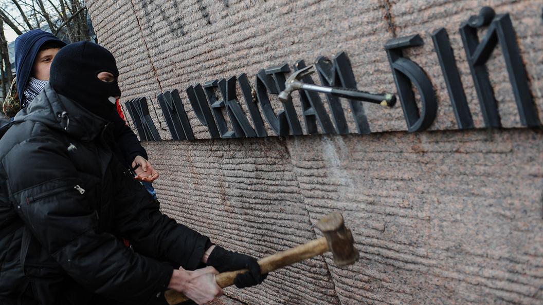 Украина: Фронт войны с памятниками