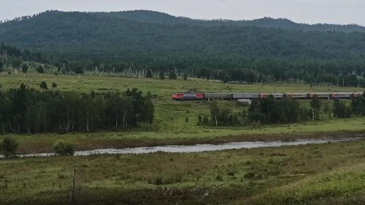 Железнодорожники восстановили движение поездов на перегоне Алеур-Бушулей