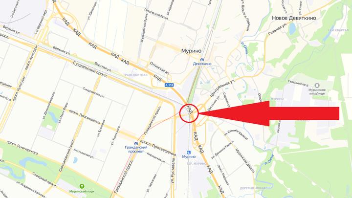 В Токсовском тоннеле на КАД ограничат движение: как объехать