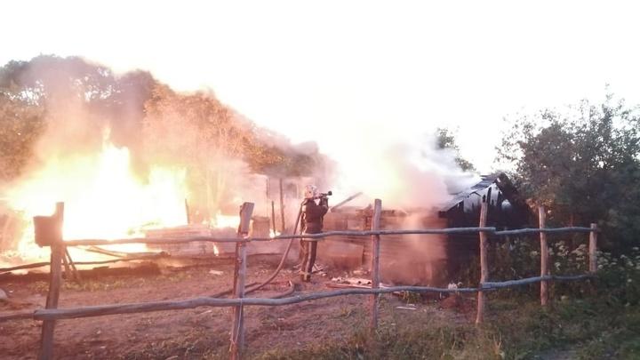 Во Владимирской области на пожаре погиб 52-летний мужчина