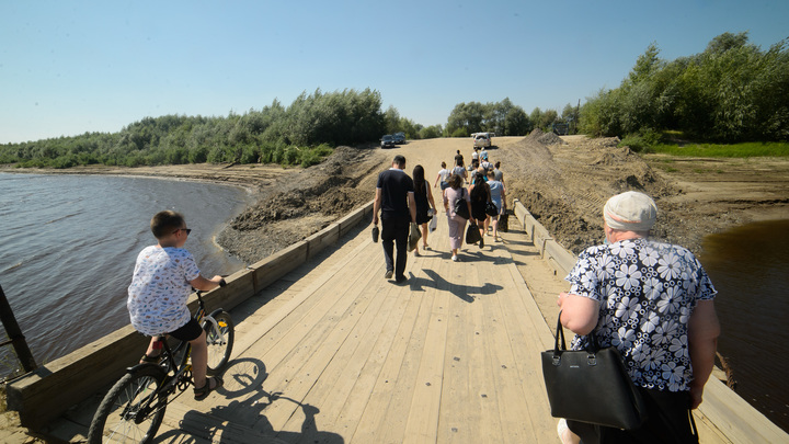 Спасают только дожди. В Крыму пересохли впадающие в водохранилище реки