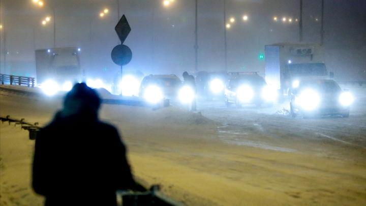 Москва вводит выходные ограничения для транзитных грузовиков