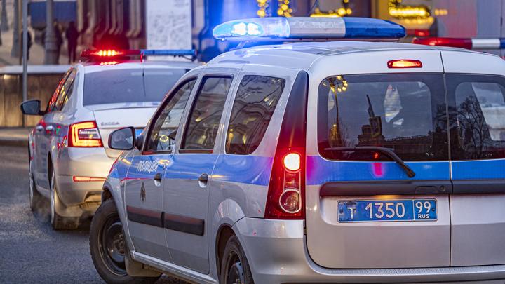 Иномарка наехала на ребёнка в центре Москвы и пытается скрыться. Объявлен перехват