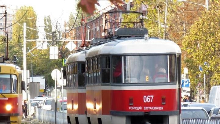 В Краснодаре трамваи под №2 временно поедут по другому маршруту